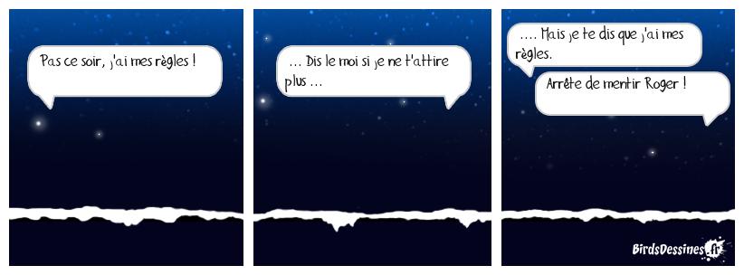 C'est la nuit, on ne les voit pas.