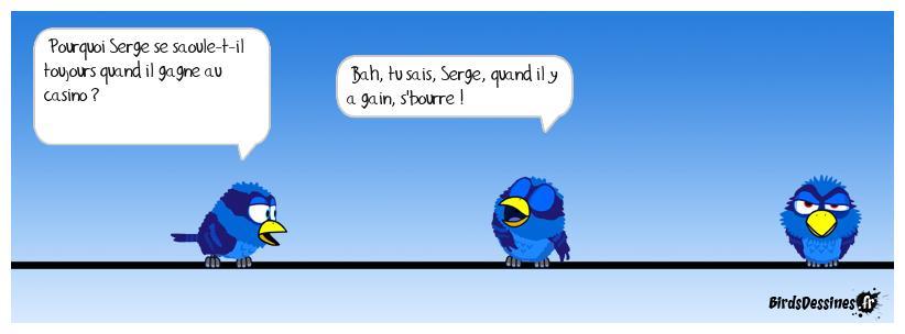 Sacré Serge !