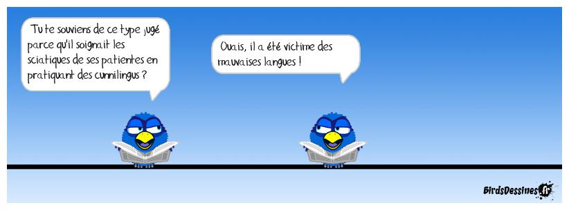 vieille histoire.... mais les birds ont une bonne mémoire !