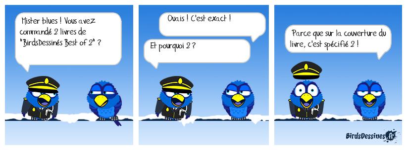 LA COMMANDE DE MISTER BLUES