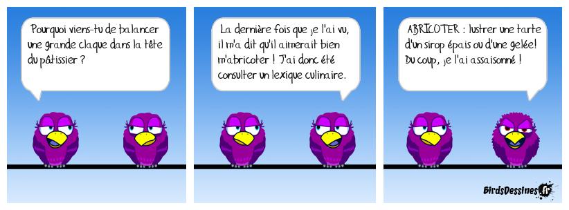 Lexique cul-linaire ...