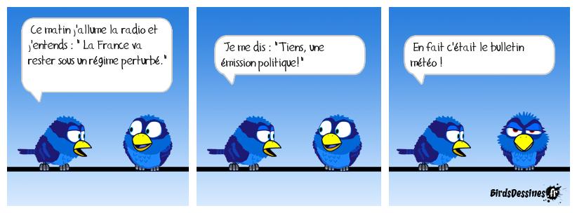 Météo politique