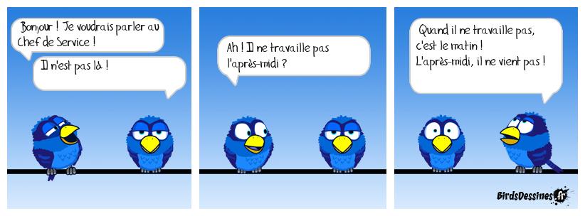 Fonctionnaire à Mi-Temps !