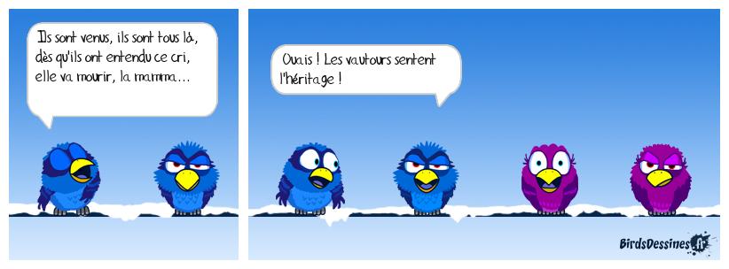 Mr AZNAVOUR, SI VOUS LISEZ BIRDSDESSINÉS...♫♪♫♪♪