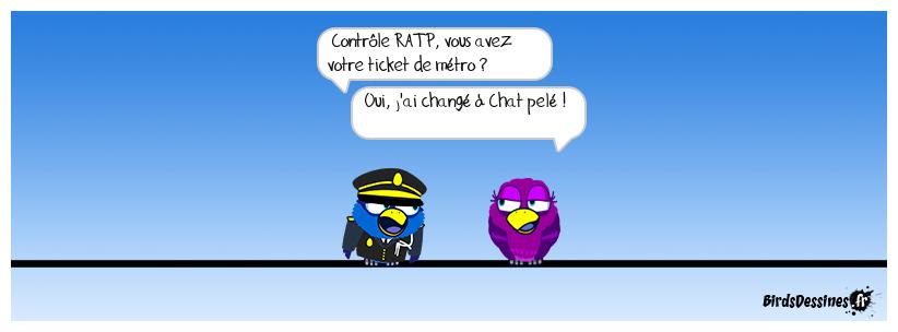 Métro Châtelet
