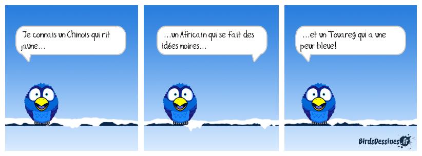 Humour coloré