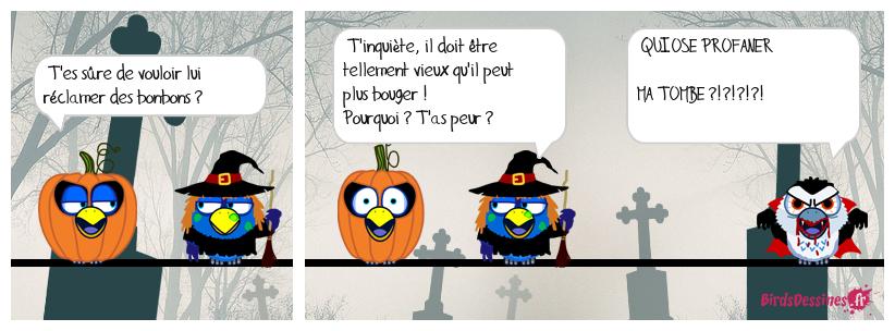 Halloween peut être très dangereux !