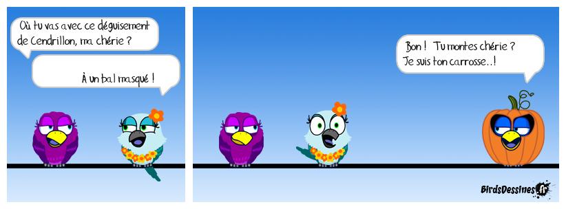 Combine Birdique pour pécho..