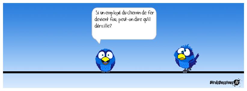 Humour à la SNCF