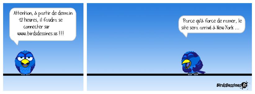 ATTENTION, Changement d'URL du site