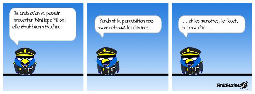Pénélope Fillon attachée .... par le menteur !?!