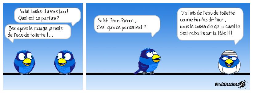 Loulou a mis Jean-Pierre au parfum !!