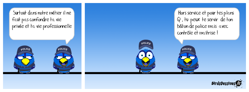 Le bâton de police