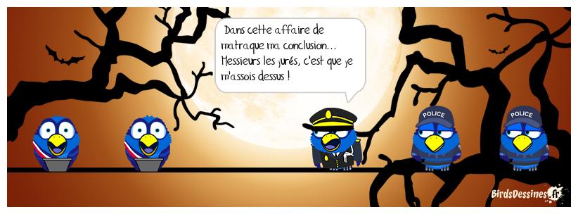 LA POLICE AU TRIBUNAL
