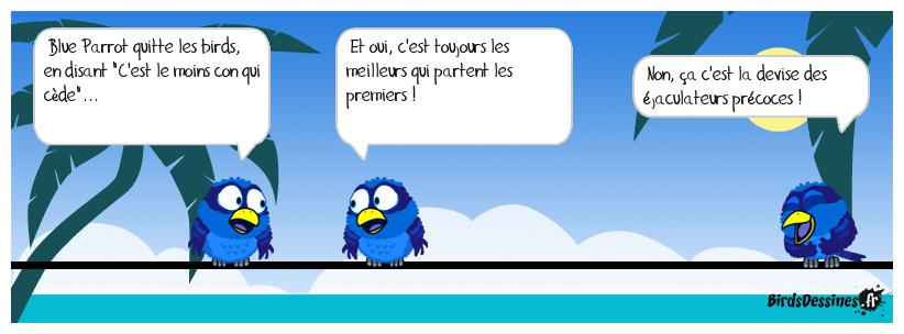Hommage à Blue Parrot