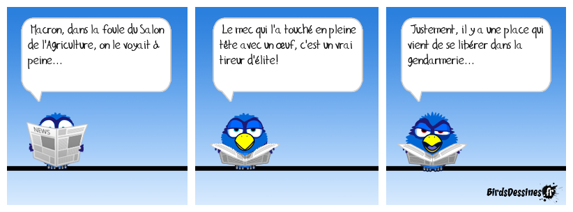 Oups, la coquille!
