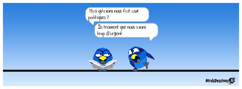 Les politiques et les citoyens