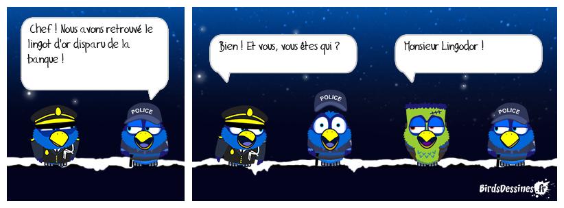 ERREUR POLICIÈRE