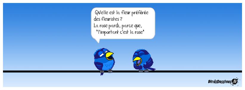 ♪♫ L'important c'est la rose ♫♪