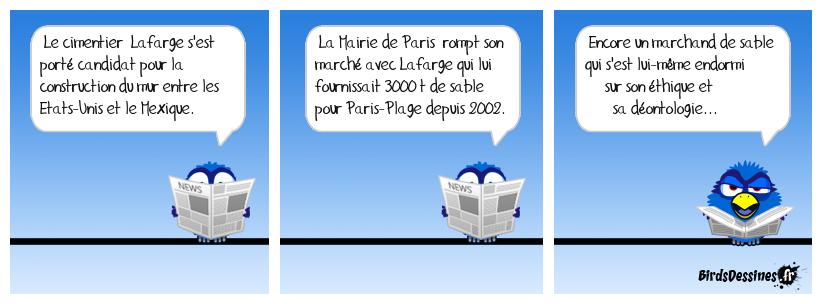 Sables mouvants à Paris plage...