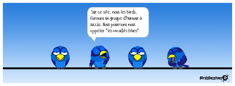 Bleus maudits