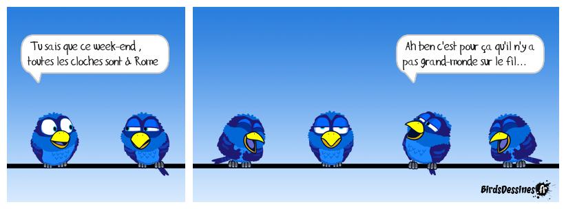 Les Birds se sont envolés...!! :)