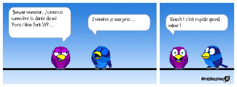 chez les birds on n'arrête pas le progrès !
