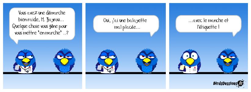 M. Bayrou s'estime lésé (ou b... ?)