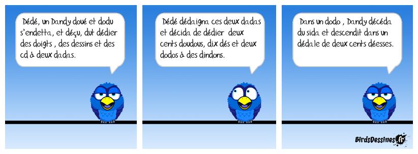 Le Dandy doué et dodu (Exercice de diction fait maison)