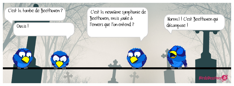 LA TOMBE DE BEETHOVEN