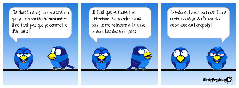 Le Monopoly version birds