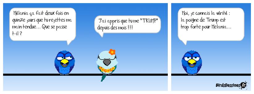 La poigne de Trump