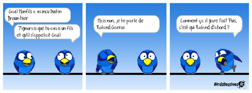 Roland gare l'os