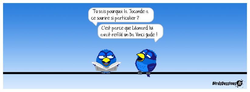 Sacré Léonard !