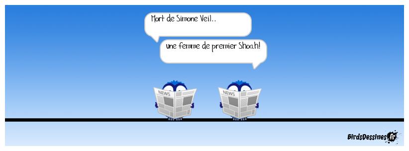 mort de Simone Veil