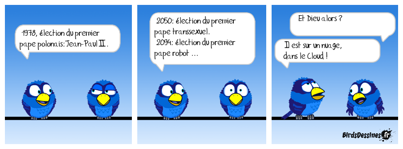 Evolution de la papauté ...