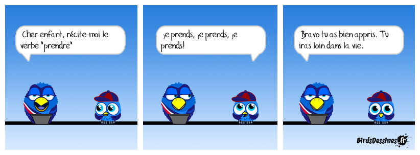 Le verbe prendre