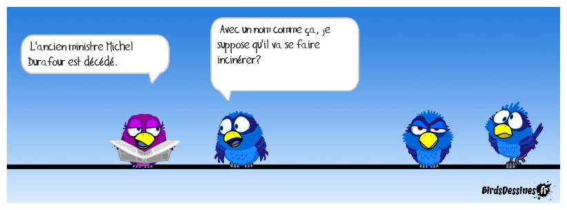 Feu monsieur Durafour
