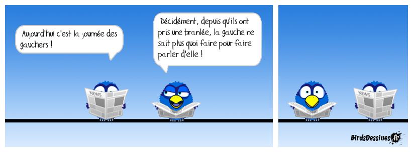 LA JOURNÉE DES GAUCHERS