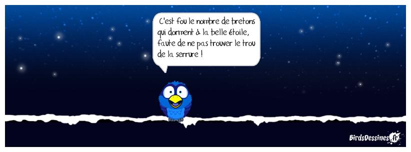 La nuit, tous les bretons sont grisés.