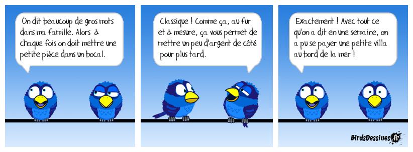 Le bird à gros mots