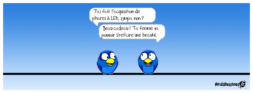Phare ou fard, laide ou led