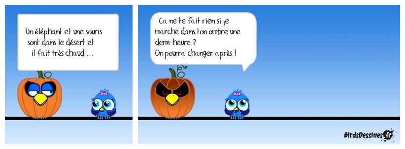 CHALEUR ECRASANTE ...