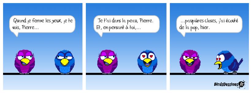 Je suis ton Pierre.