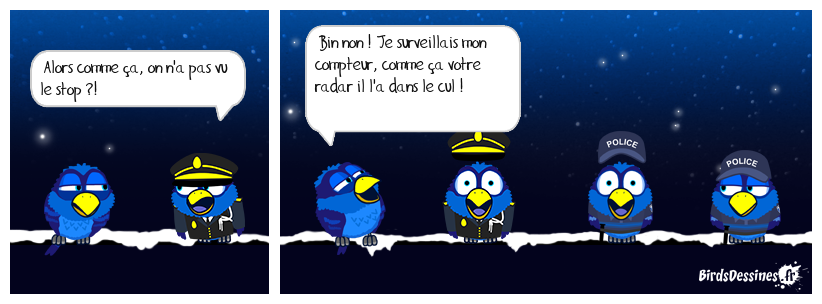 CONTRÔLE DE POLICE...14