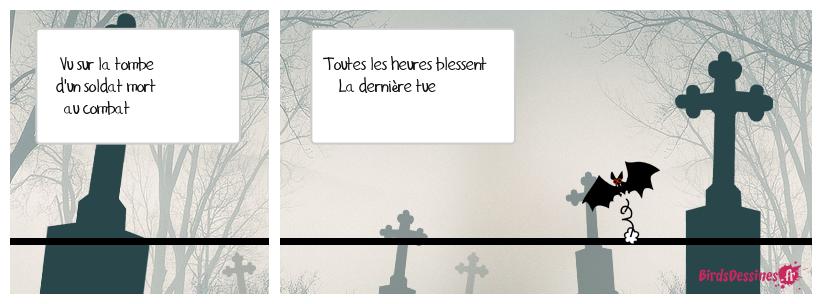 Hommage aux soldats Français morts au combat