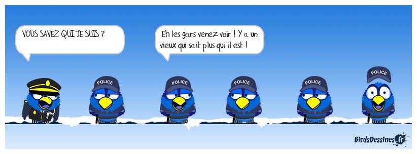 A L'ÉCOLE DE POLICE