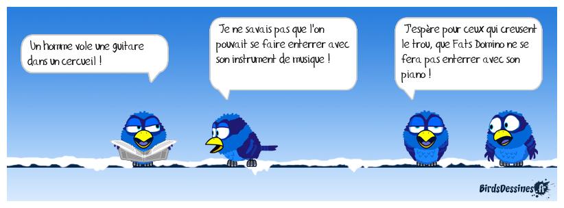 AVEC SON INSTRUMENT POUR L'ÉTERNITÉ