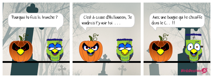 Halloween ça chauffe . . .