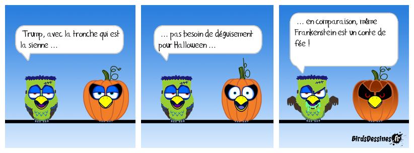 Pour les Ricains, c'est Halloween toute l'année !